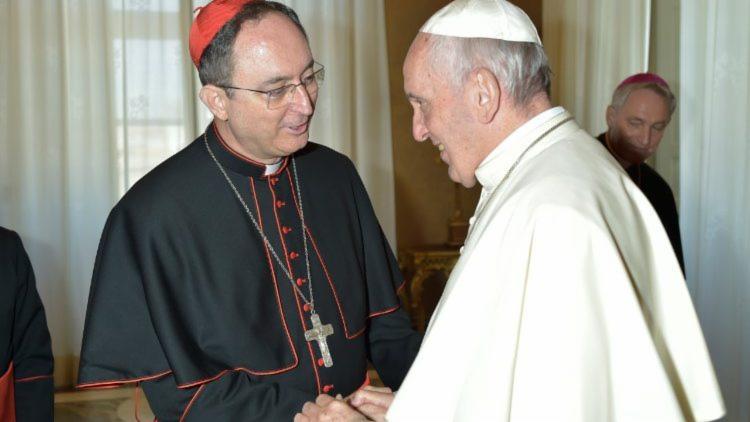 Dom Sergio foi nomeado cardeal pelo Papa Francisco em 2016 | Reprodução | Vatican News - Foto: Foto: Reprodução | Vatican News