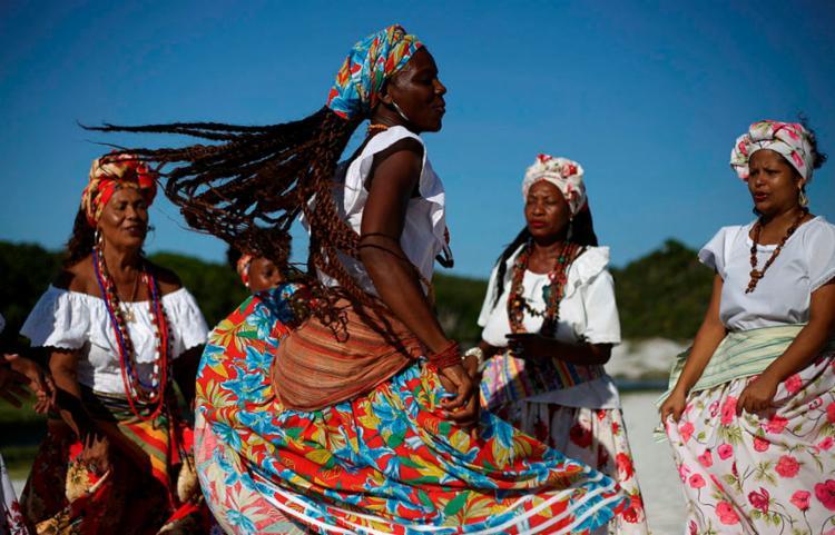 As Ganhadeiras de Itapuã transformam vivências e histórias em samba | Foto: Raphael Müller | Ag. A TARDE
