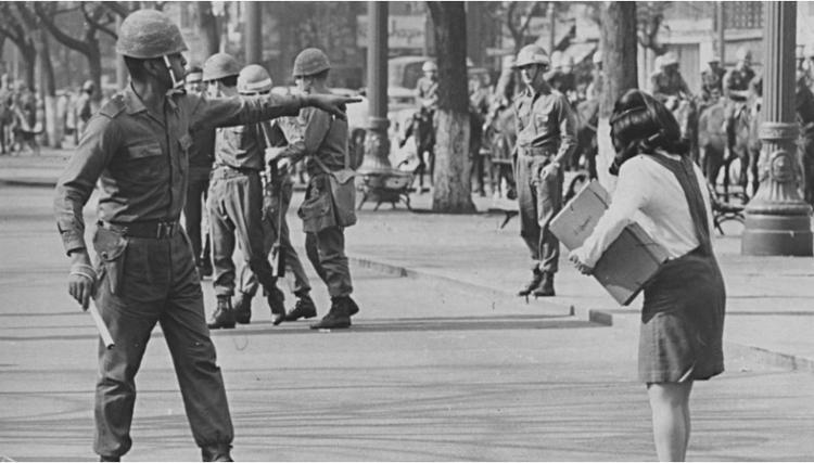 O protesto é feito em memória de todas as vítimas do Estado   Foto: o protesto é feito em memória de todas as vítimas do Estado - Foto: Reprodução   Arquivo Nacional