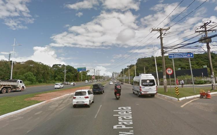 Ocorrência registrada logo após a saída de Narandiba | Foto: Google Street View - Foto: Google Street View