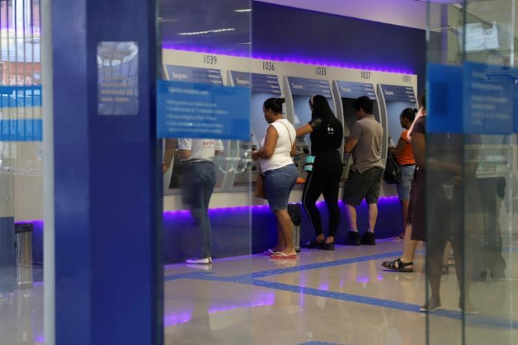 Banco do Brasil, Bradesco, Caixa, Itaú Unibanco e Santander participam da medida | Foto: Uendel Galter | Ag. A TARDE - Foto: Uendel Galter | Ag. A TARDE