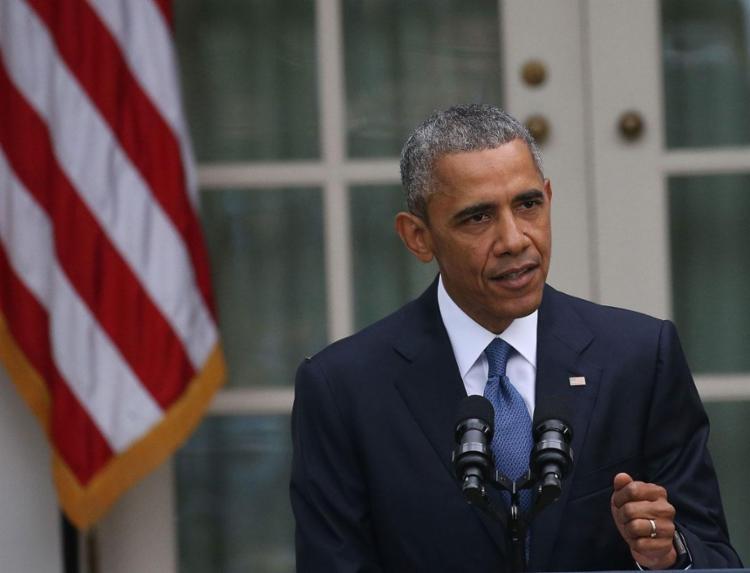 Obama disse ao New York Times que tinha reduzido lista com 500 convidados por causa do avanço da Covid nos EUA   Foto: Mark Wilson   AFP - Foto: Mark Wilson   AFP