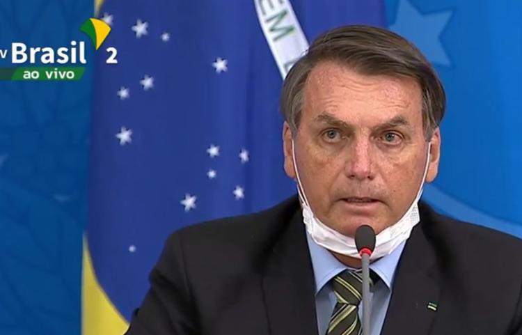 O encontro ocorreu a convite do presidente Jair Bolsonaro   Foto: TV Brasil - Foto: TV Brasil