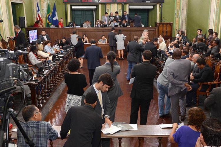 Projeto chegou à Câmara na segunda-feira, 16 | Foto: Reginaldo Ipê | CMS - Foto: Reginaldo Ipê | Câmara de Salvador