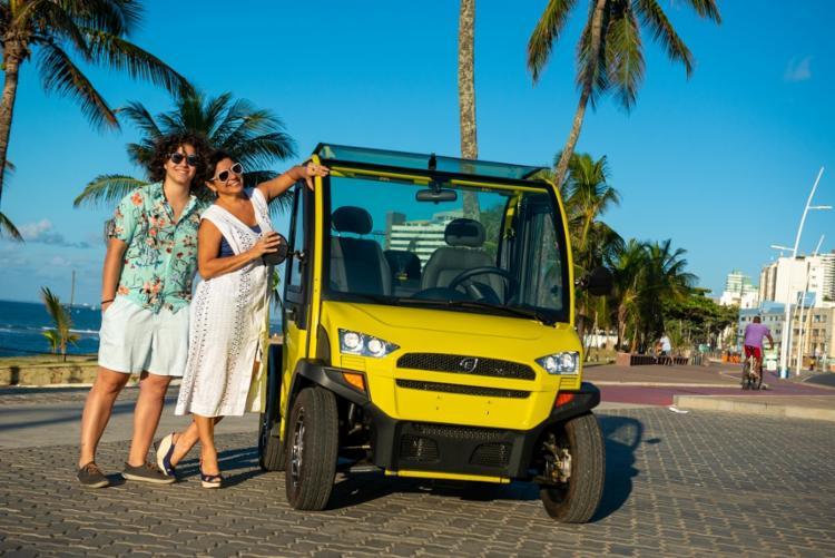 Júlia e Milena Kalid desbravam mercados para carros elétricos | Foto: Divulgação - Foto: Divulgação