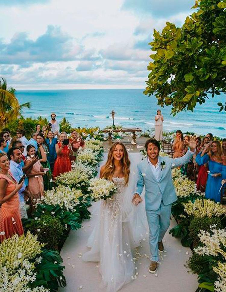 Festa com cerca de 500 convidados aconteceu em um resort de luxo localizado em Itacaré | Foto: Reprodução | Instagram - Foto: Reprodução | Instagram