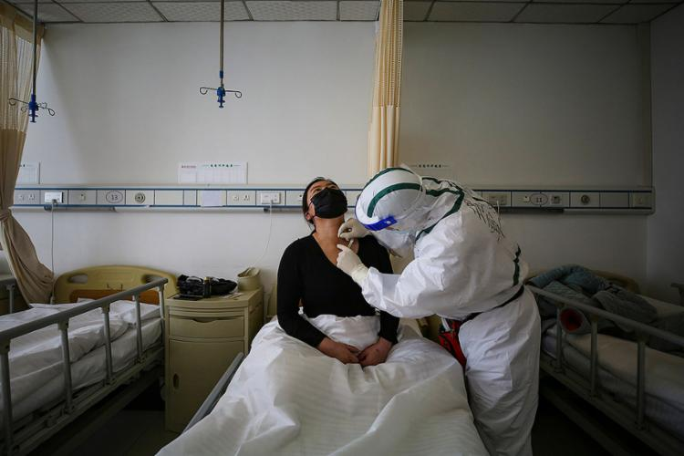 Trata-se da primeira jornada sem casos locais de contaminação | Foto: STR | AFP - Foto: STR | AFP