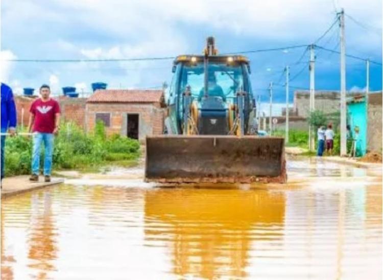 Nos últimos dias choveu cerca de 150mm no município | Foto: Divulgação - Foto: Divulgação