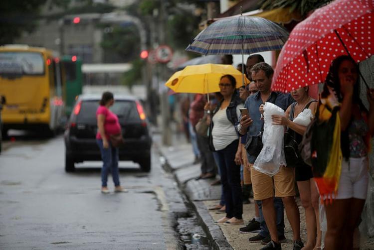 Fim de semana deve ser chuvoso na capital baiana | Foto: Raphael Muller / Ag. A TARDE - Foto: Foto: Raphael Muller / Ag. A TARDE