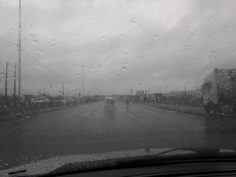 Tempo ao longo dia na capital permanecerá nublado a parcialmente nublado   Foto: Cidadão Repórter   A TARDE - Foto: Cidadão Repórter   A TARDE