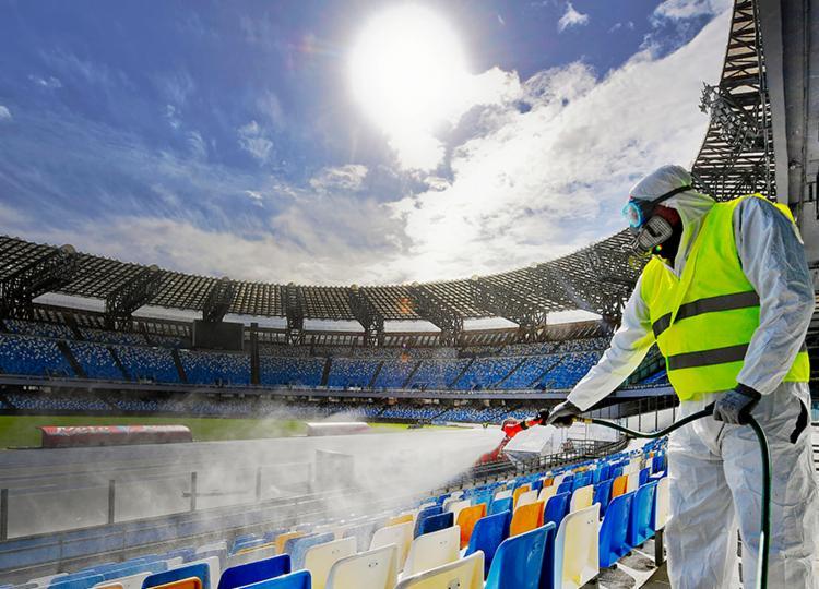 Decisão será para adiar jogos do mês de março | Foto: Ciro Fusco | ANSA | AFP - Foto: Ciro Fusco | ANSA | AFP