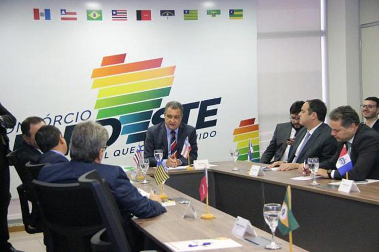 O grupo auxiliará governadores da região na tomada de decisão sobre as ações de enfrentamento à pandemia   Foto: Carlos Prates   Gov-BA - Foto: Carlos Prates   Gov-BA