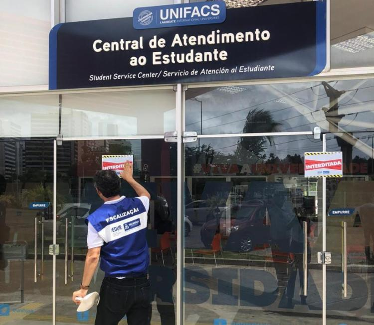 Universidade estava com central de atendimento funcionando | Foto: Divulgação | Secom - Foto: Divulgação | Secom