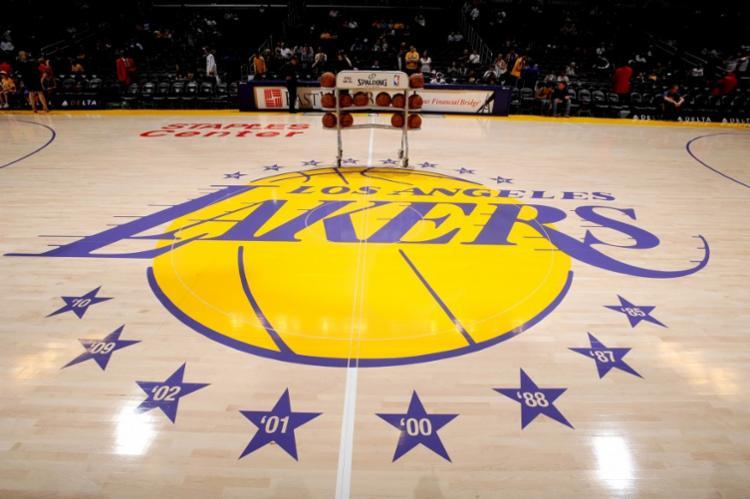 O Lakers deverá realizar os testes com os demais atletas do elenco e comissão técnica que ainda não foram examinados | Foto: Divulgação | Los Angeles Lakers - Foto: Divulgação | Los Angeles Lakers