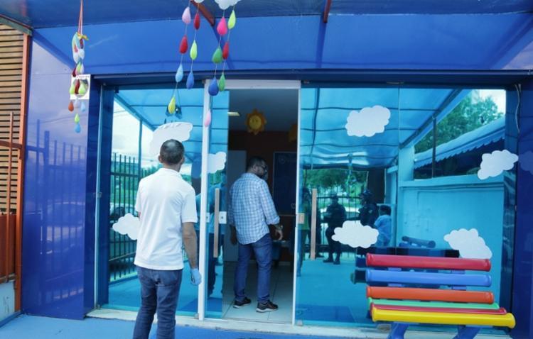 Unidade escolar da rede privada fazia atendimento ao público | Foto: Divulgação | Secom Lauro de Freitas - Foto: Divulgação | Secom Lauro de Freitas