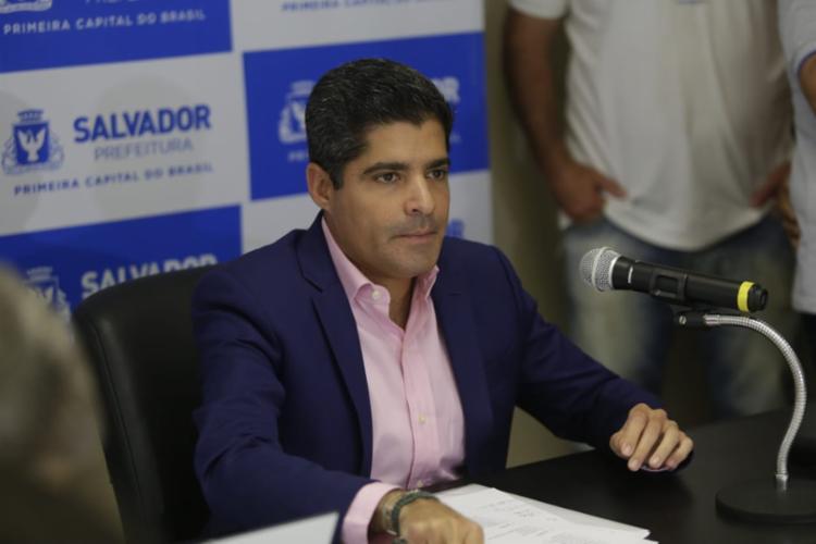 Prefeito informou que ainda não há nova data para evento | Foto: Raul Spinassé | Ag. A TARDE - Foto: Raul Spinassé | Ag. A TARDE