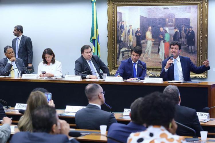 Em audiência, deputados e ministro discutiram medidas contra covid-19 | Foto: Reprodução | Ministério da Saúde | @minsaude - Foto: Reprodução | Ministério da Saúde | @minsaude