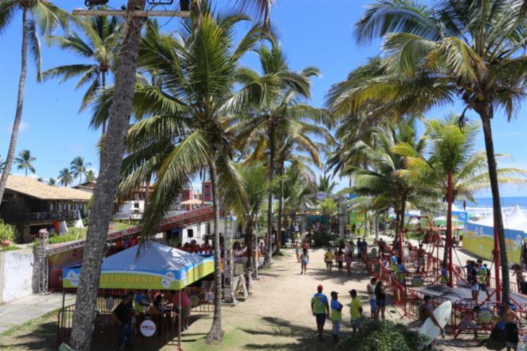 O evento ocorre na praia da Coroinha | Foto: Divulgação | Lego Comunicação - Foto: Divulgação | Lego Comunicação
