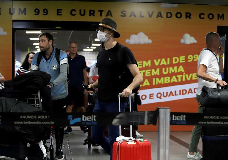 A Bahia já tem três casos confirmados de covid-19 | Foto: Uendel Galter | Ag. A TARDE - Foto: Uendel Galter | Ag. A TARDE