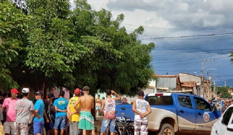 Vítima estava no colo da mãe no momento do crime | Foto: Reprodução: Blog do Braga - Foto: Foto: Reprodução: Blog do Braga