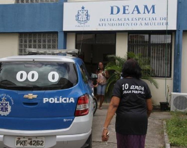 Ele foi preso por equipes da Delegacia Especial de Atendimento à Mulher (Deam/Periperi)   Foto: Alberto Coutinho   GOV BA - Foto: Alberto Coutinho   GOV BA