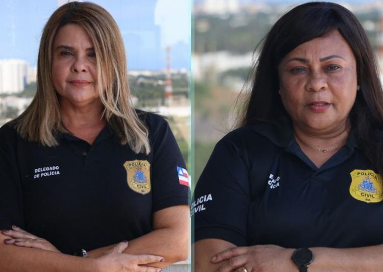Heleneci Nascimento e Simone Moutinho são titulares das Deams de Brotas e Periperi | Foto: Divulgação | SSP - Foto: Divulgação | SSP