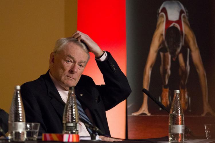 Canadense Dick Pound afirma que evento não começará em 24 de julho   Foto: Justin Tallis   AFP - Foto: Justin Tallis   AFP