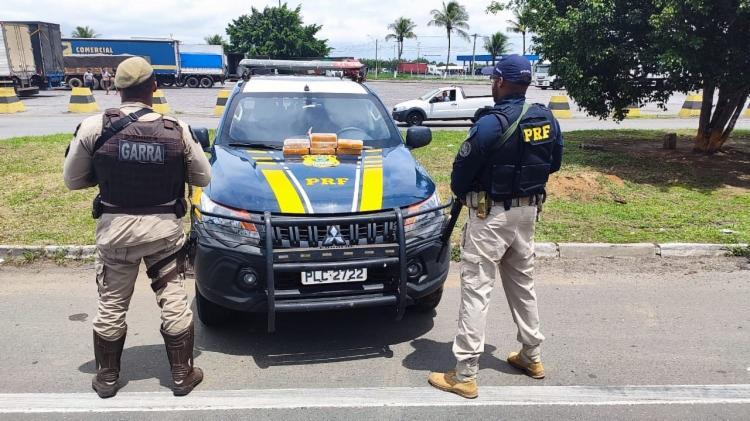 Entorpecentes saíram de Goiânia e tinham como destino final Salvador | Foto: Divulgação | SSP-BA - Foto: Divulgação | SSP-BA