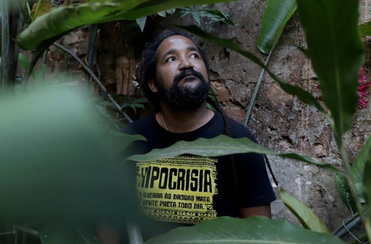 Eduardo Ribeiro, historiador e cofundador do Iniciativa Negra - Foto: Uendel Galter/Ag. A TARDE