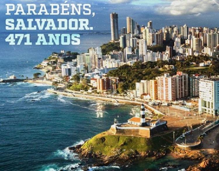 Clubes parabenizam cidade e mandam mensagem de prevenção ao coronavírus | Foto: Divulgação | EC Vitória - Foto: Divulgação | EC Vitória