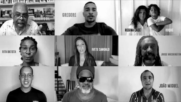 O vídeo contou com participações de grandes personalidades baianas e brasileiras | Foto:Reprodução | TV Bahêa - Foto: Reprodução | TV Bahêa