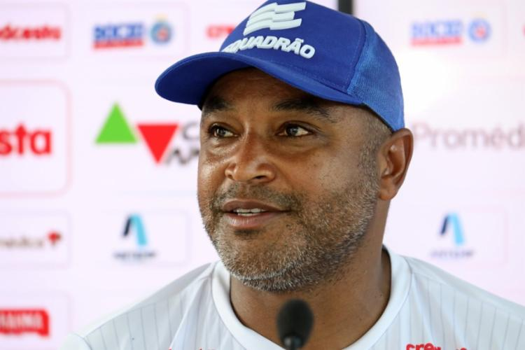 Treinador espera partida difícil contra a equipe sergipana   Foto: Felipe Oliveira   EC Bahia - Foto: Felipe Oliveira   EC Bahia