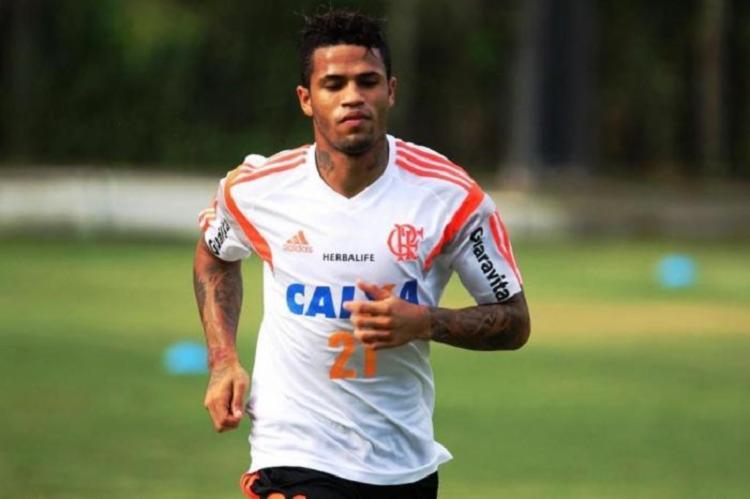 Jogador defendeu o Flamengo em 2014   Foto: Divulgação   Flamengo - Foto: Divulgação   Flamengo