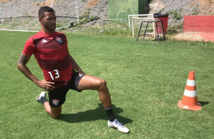 Atacante ainda não jogou nesta temporada | Foto: Letícia Martins | EC Vitória - Foto: Letícia Martins | EC Vitória