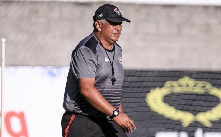 Agnaldo Liz comandou o Leão em sete partidas | Foto: Letícia Martins | EC Vitória - Foto: Letícia Martins | EC Vitória