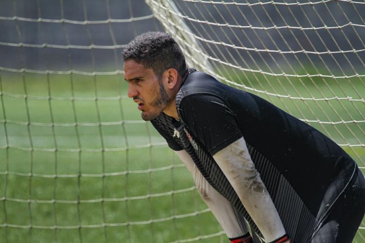 Arqueiro foi vetado pelo departamento médico do clube | Foto: Letícia Martins | EC Vitória - Foto: Letícia Martins | EC Vitória