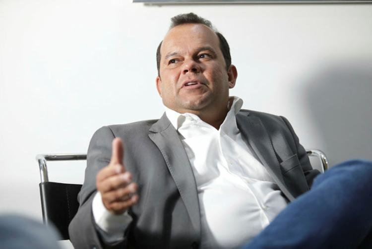 O presidente da Câmara Municipal de Salvador, Geraldo Júnior | Foto: Raul Spinassé | Ag. A TARDE - Foto: Raul Spinassé | Ag. A TARDE