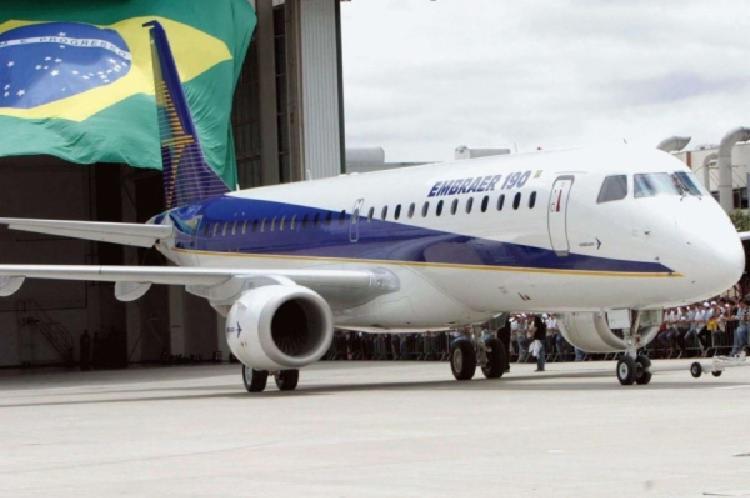 A Embraer é a terceira maior fabricante de aeronaves do mundo | Foto: Divulgação | Embraer - Foto: Divulgação | Embraer