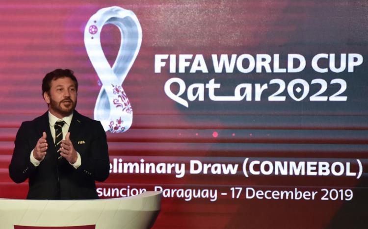 A Fifa, a pedido da Conmebol, adiou o início das eliminatórias sul-americanas | Foto: Norberto Duarte | AFP - Foto: Norberto Duarte | AFP