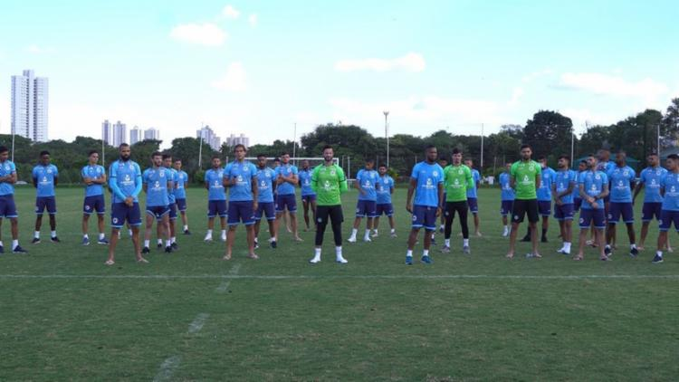Jogadores do Goiás se negam a entrar em campo | Foto: Reprodução | Instagram - Foto: Reprodução | Instagram