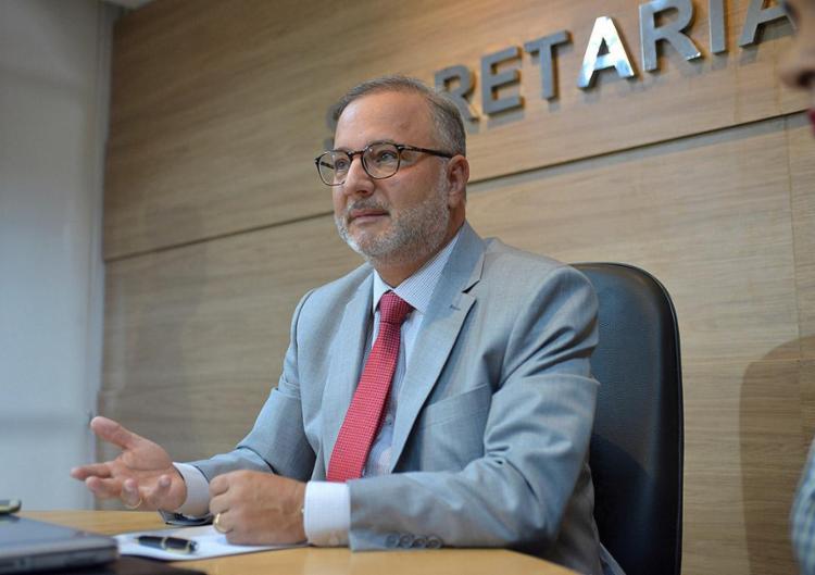 Secretário Fábio Vilas-Boas diz que calendário será ajustado em reunião / Foto: Shirley Stolze | Ag. A TARDE - Foto: Shirley Stolze | Ag. A TARDE