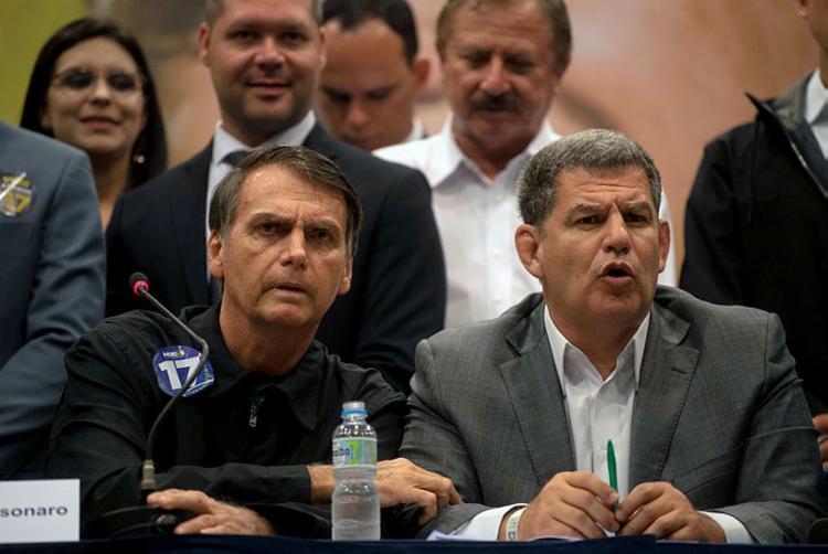 Bebianno afirmou que Bolsonaro cultivava intrigas e ódio e ensinava aos seus filhos a fazerem mesmo | Foto: Mauro Pimentel | AFP - Foto: Mauro Pimentel | AFP