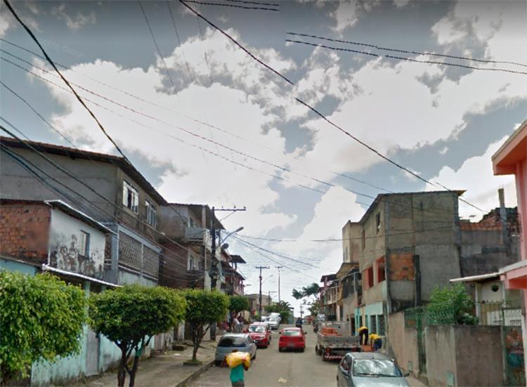 Crime aconteceu na rua São Cristóvão   Foto: Reprodução   Google Street View - Foto: Reprodução   Google Street View