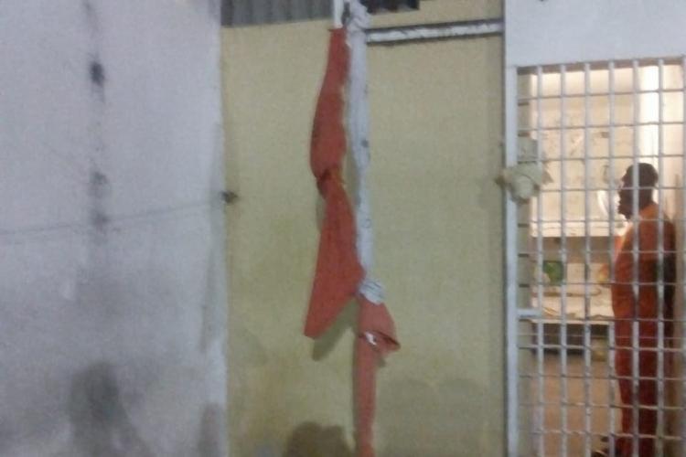 Cinco detentos tentaram fugir | Foto: Divulgação - Foto: Foto: Divulgação