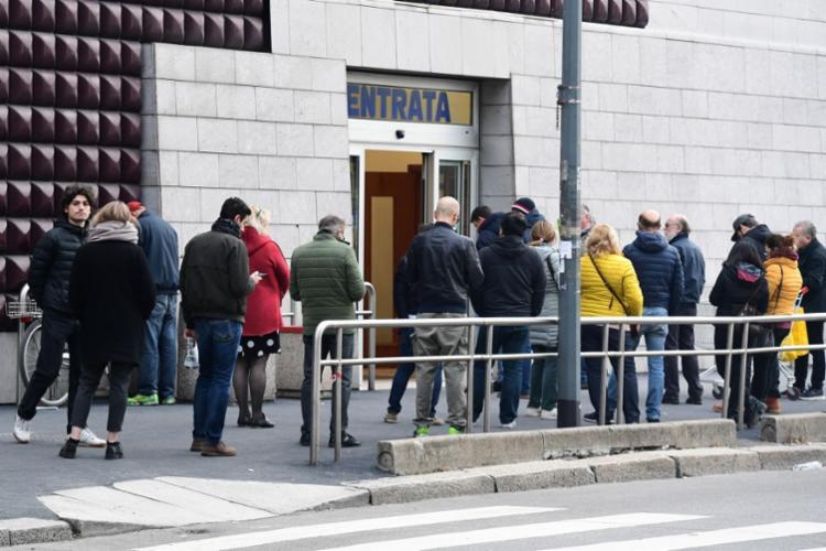 Somente nas últimas 24 horas, a Itália registrou 133 mortes por coronavírus | Foto: Miguel Medina | AFP - Foto: Miguel Medina | AFP