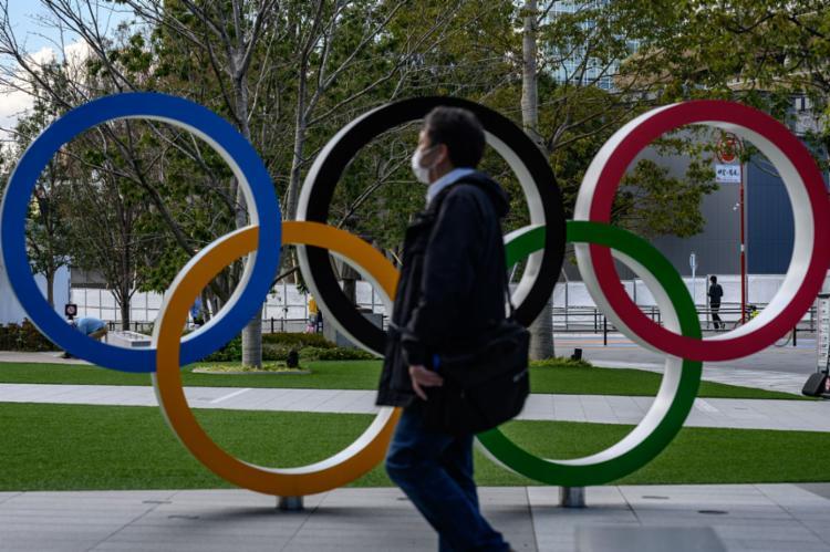Abertura da Olimpíada de Tóquio está mantida para o dia 24 de julho | Foto: Philip Fong | AFP - Foto: Philip Fong | AFP