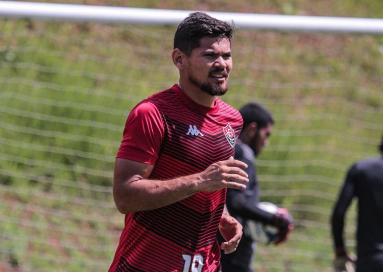 Léo Ceará vem de gol marcado no último jogo   Foto: Letícia Martins   ECVitória - Foto: Letícia Martins   ECVitória