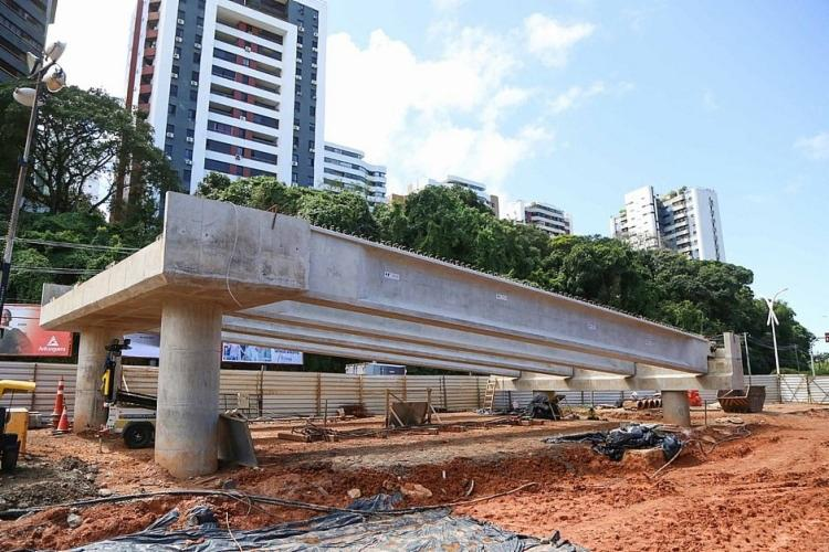 O Trecho 2 do BRT ligará a Estação da Lapa ao Parque da Cidade, no Itaigara | Foto: Bruno Concha | Secom - Foto: Bruno Concha | Secom