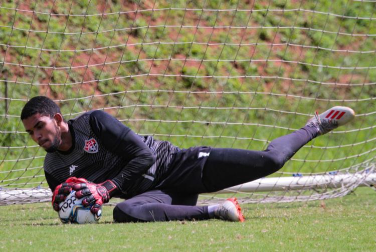 Lucas Arcanjo será titular pela segunda vez | Foto: Letícia Martins | EC Vitória - Foto: Letícia Martins | EC Vitória
