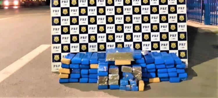 Ação da PRF ocorreu na madrugada desta terça-feira   Foto: Divulgação   PRF - Foto: Divulgação   PRF
